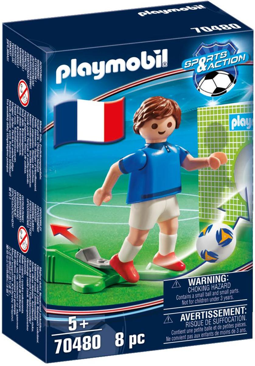 PLAYMOBIL  Sports & Action Nationale voetbalspeler Frankrijk - 70480