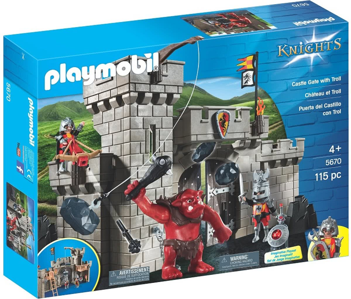Playmobil 5670 Club Knights Castle