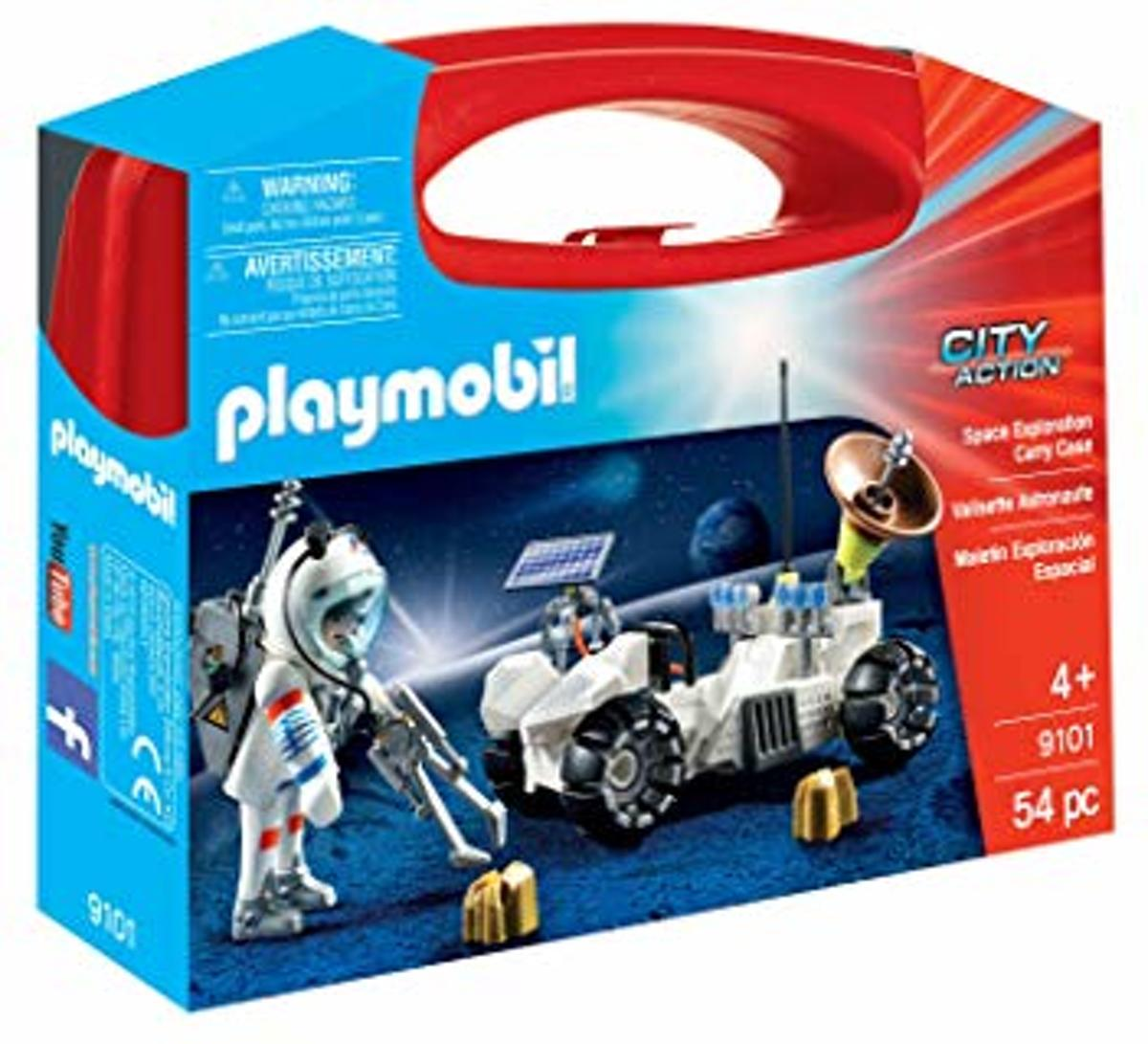 Playmobil 9101 meeneem koffer City Action Astronaut