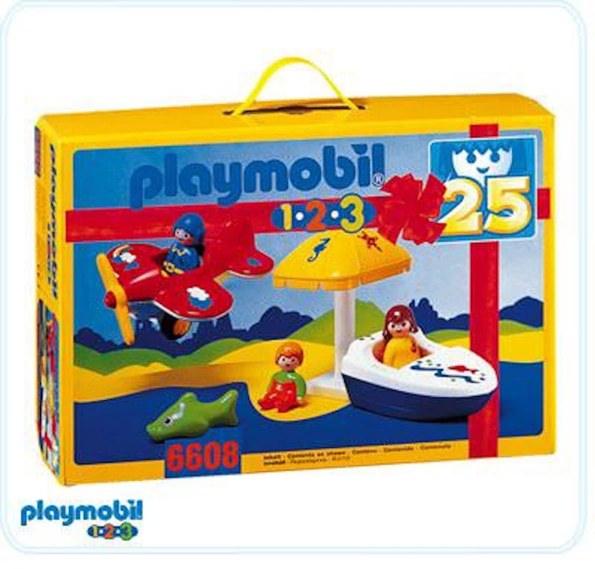 Playmobil Beach Set Parts Only - 6608