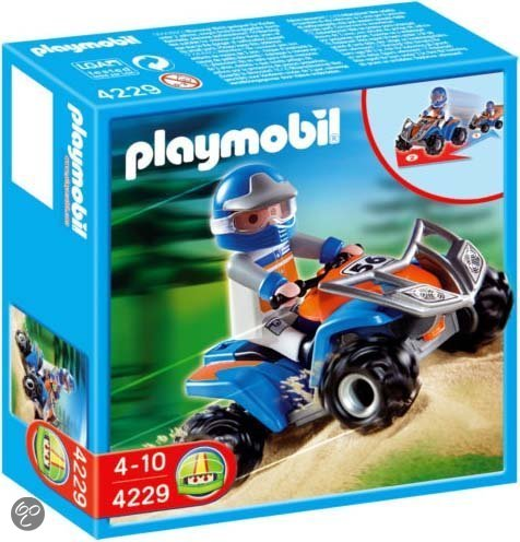 Playmobil Blauwe Cross-Quad - 4229