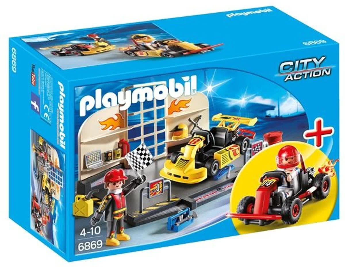 Playmobil City Action: Start Kart Race (6869)