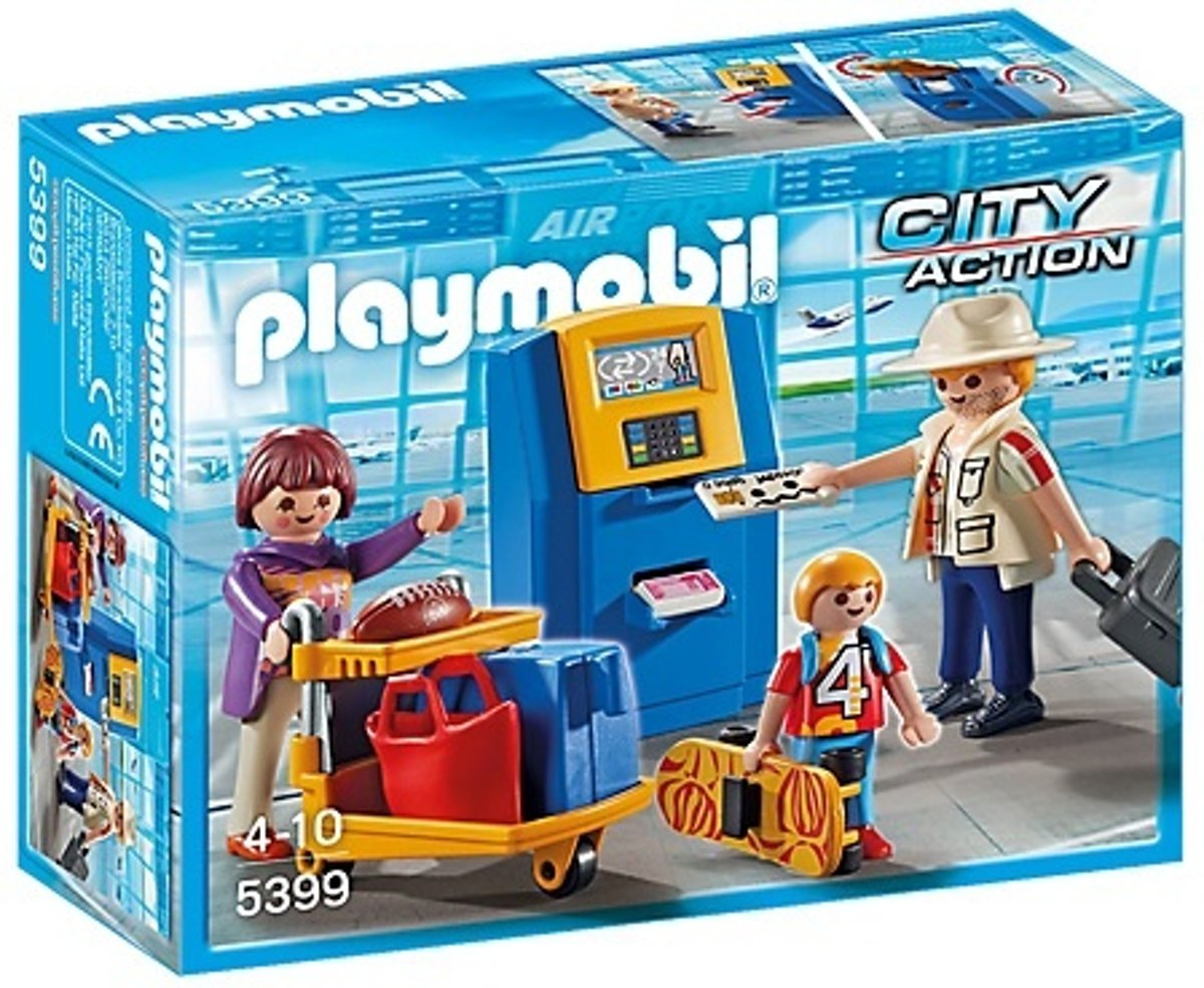 Playmobil City Action: Vakantiegangers Aan Incheckbalie (5399)