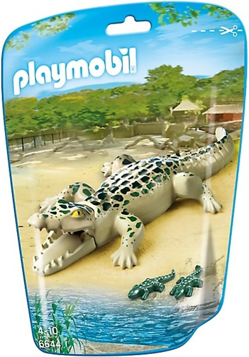 Playmobil City Life: Alligator Met Babys (6644)