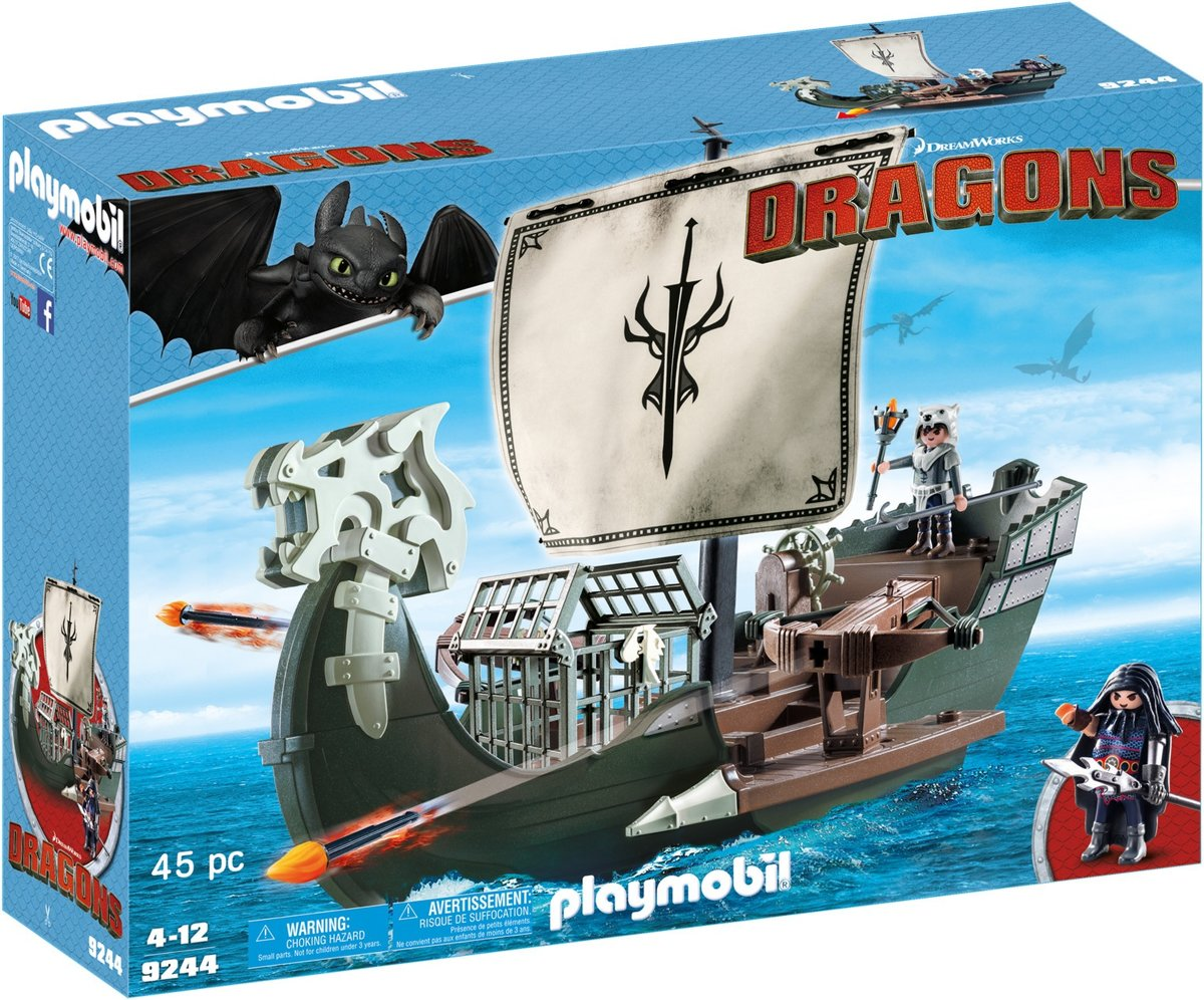Playmobil Dragons: Drakos Schip (9244)