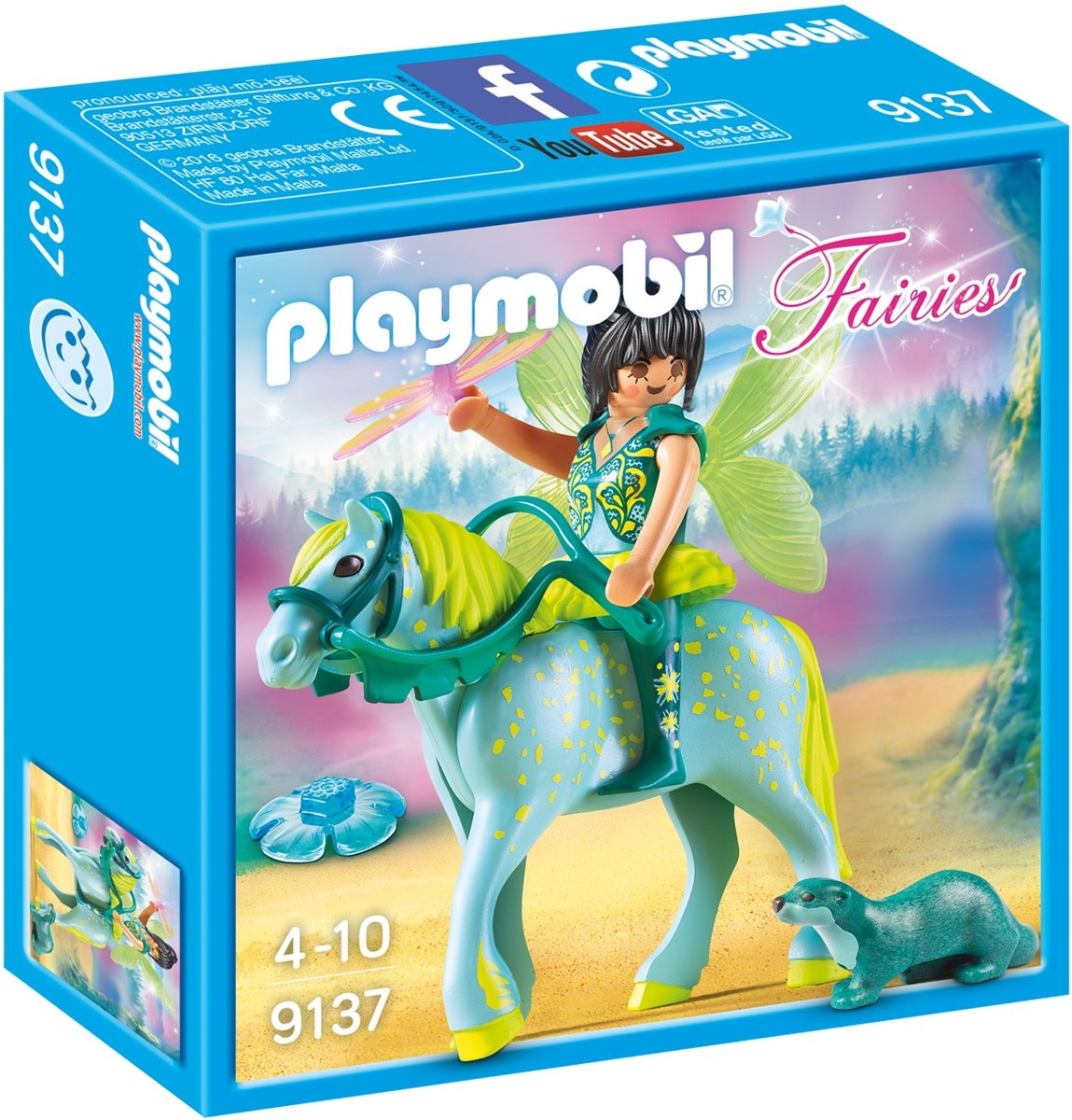 Playmobil Fairies: Waterfee Met Paard (9137)