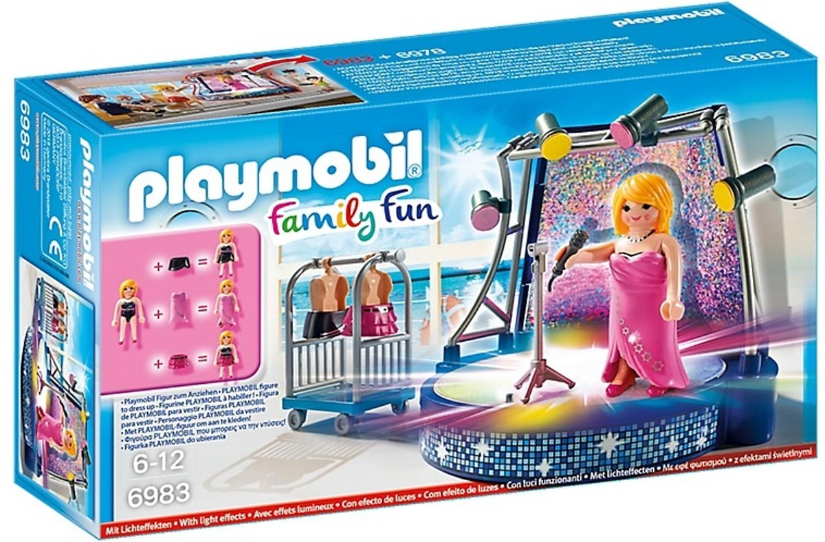 Playmobil Family Fun: Podium Met Artieste (6983)