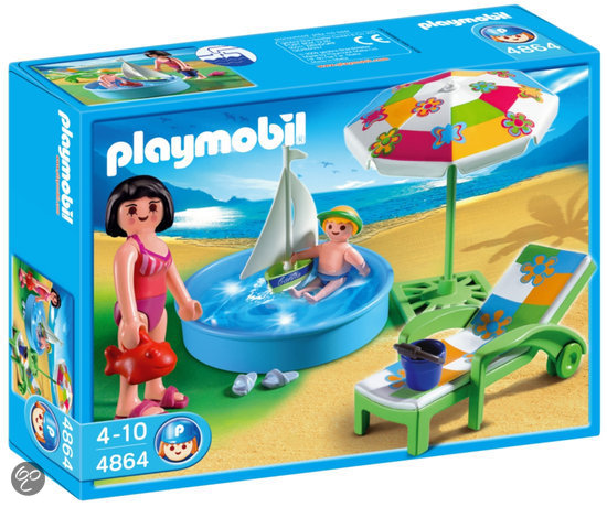 Playmobil Kinderbadje - 4864