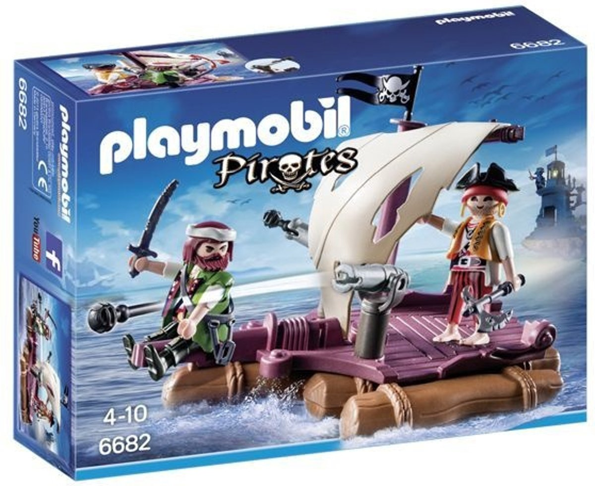 Playmobil Pirates: Piratenvlot Speelset (6682)