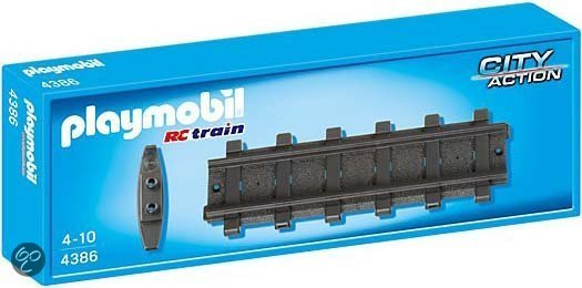 Playmobil Rails Recht 2x