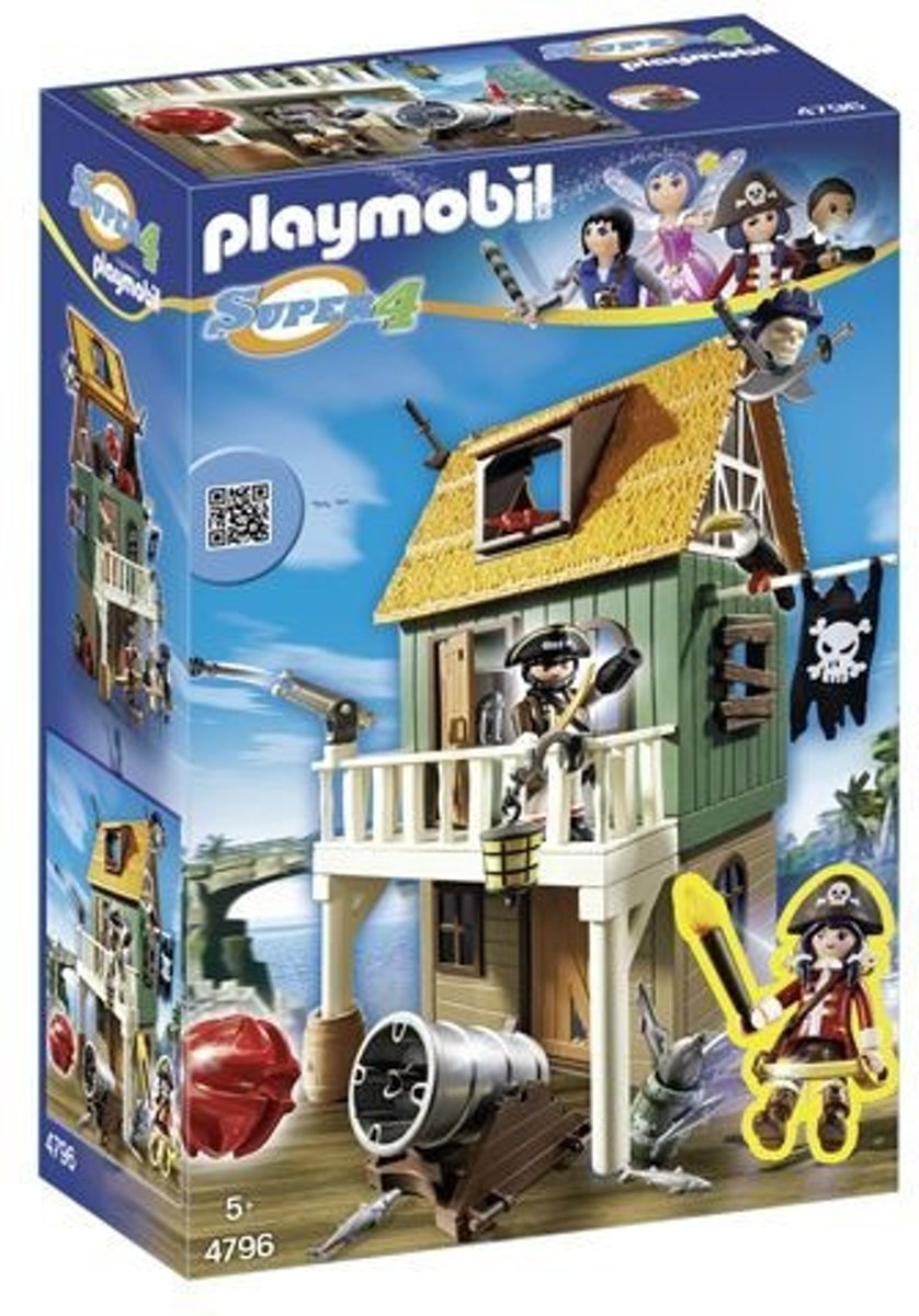 Playmobil Super 4: Fort (4796)