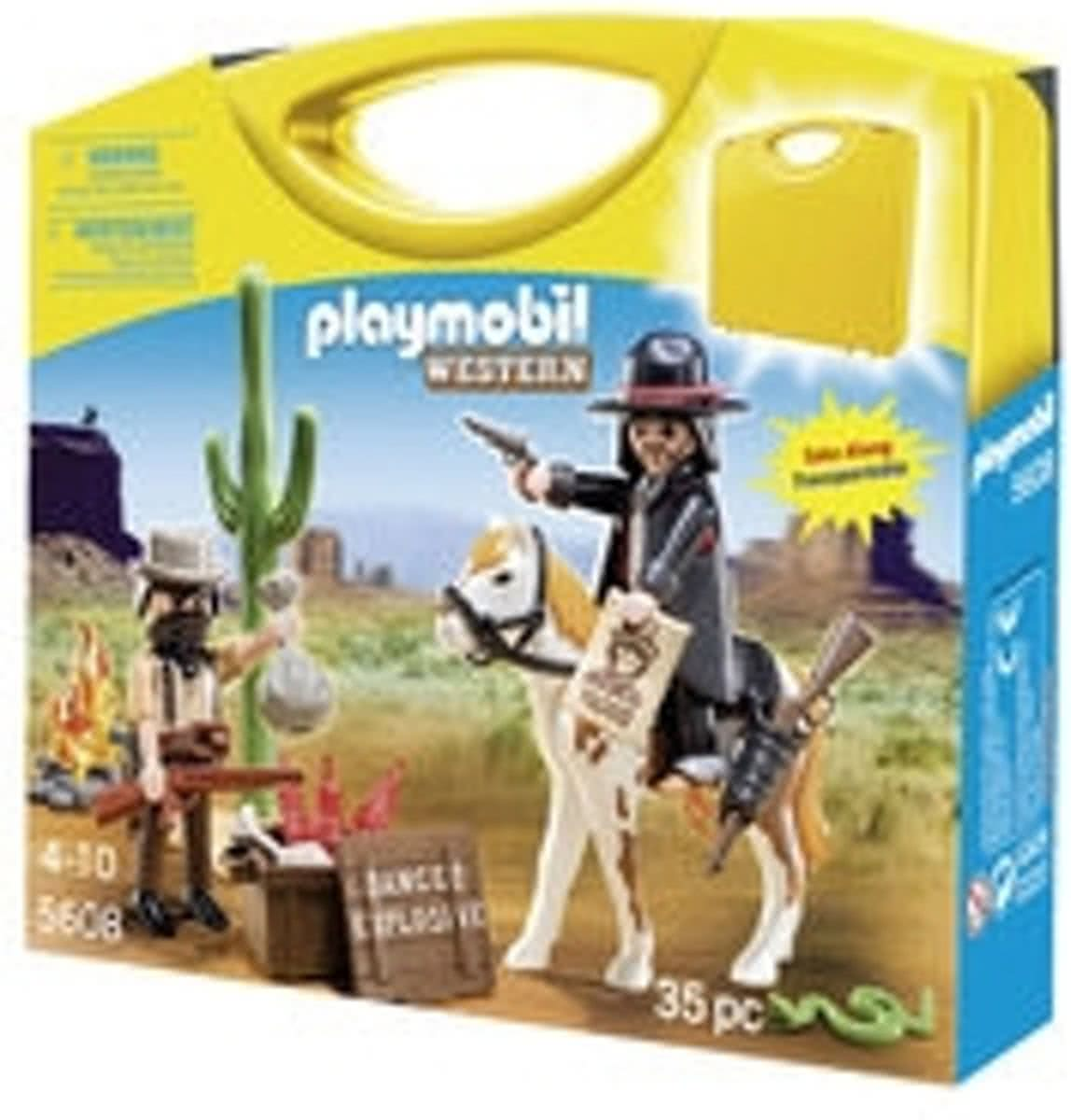 Playmobil Western Carrying Case - 5608