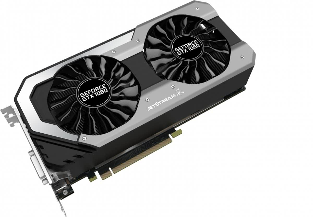 GeForce GTX 1060 Super JetStream GeForce GTX 1060 6GB GDDR5