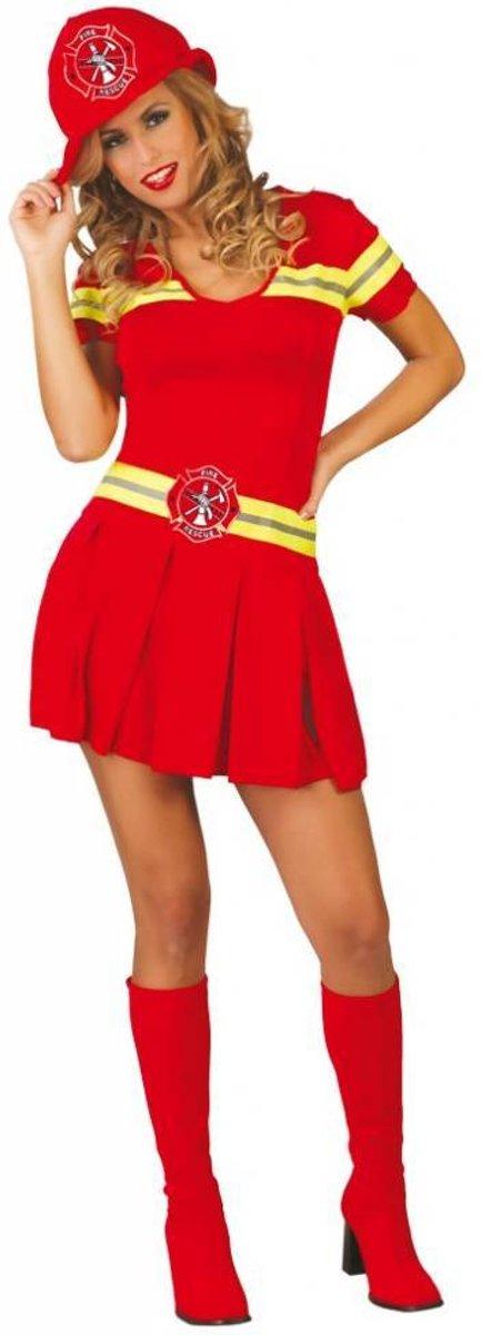 f87d759ac9fc7e Brandweer Kostuum Dames. Inhoud  brandweer jurk ...
