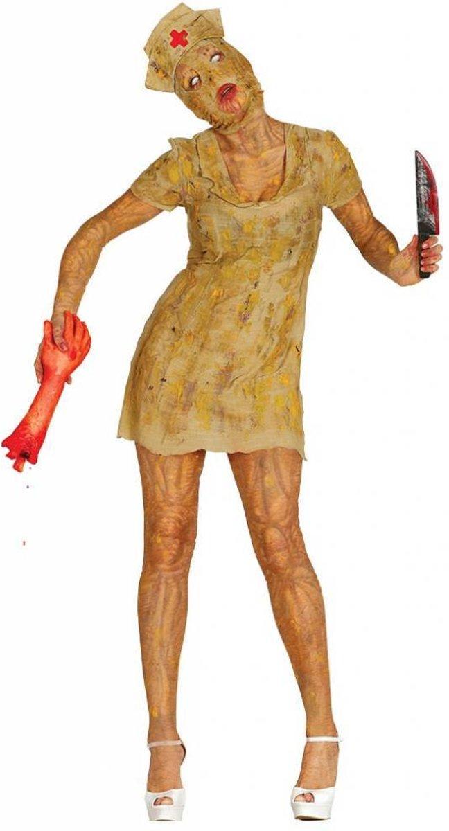 b1f36d9141d41f Halloween Kostuum Dames Verpleegster Zombie