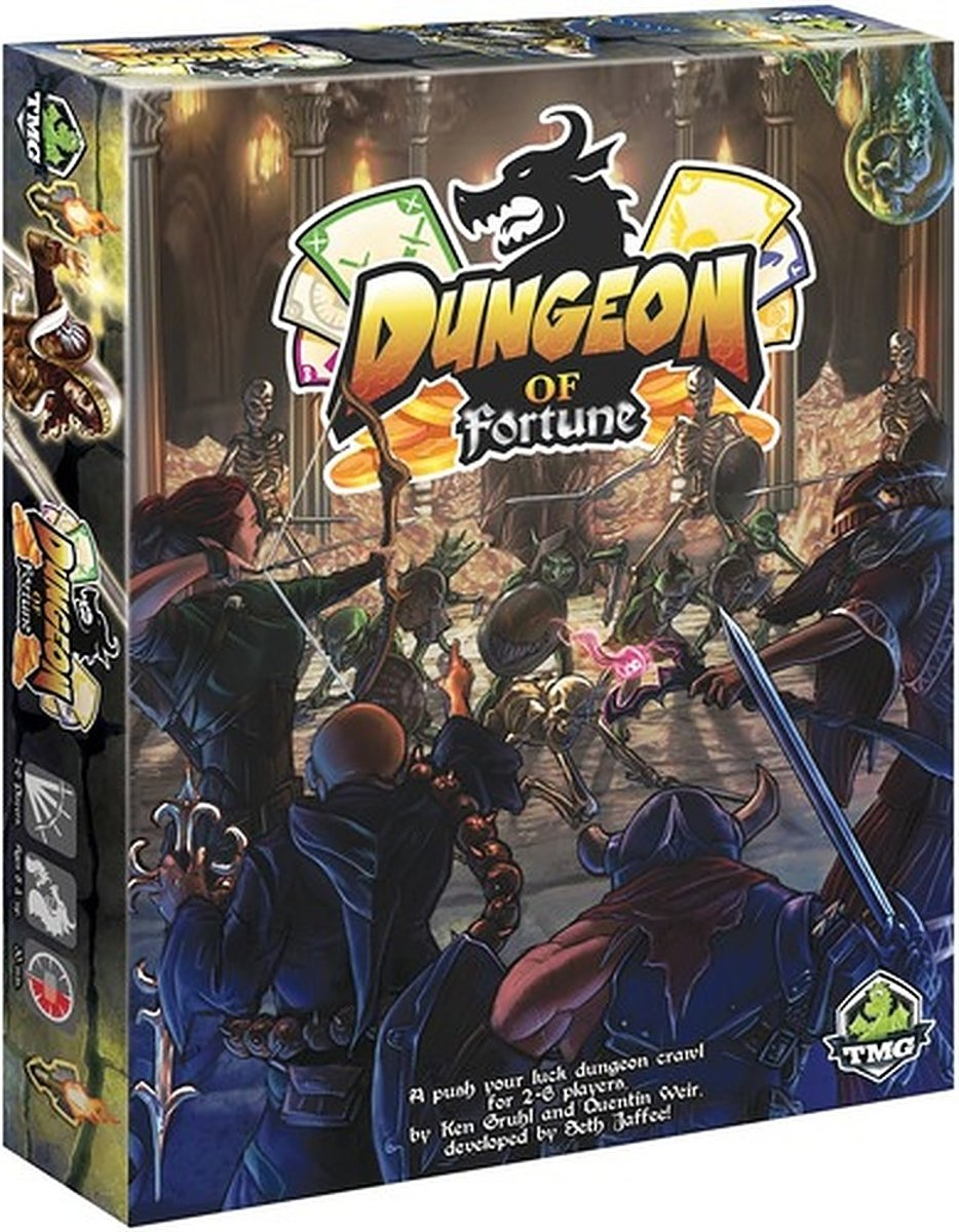 Dungeon of Fortune Card Game