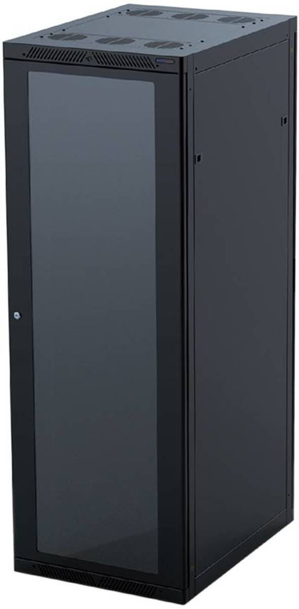 R4106-22Uk   19 inch serverkast, 1000 mm diep, 22 HE