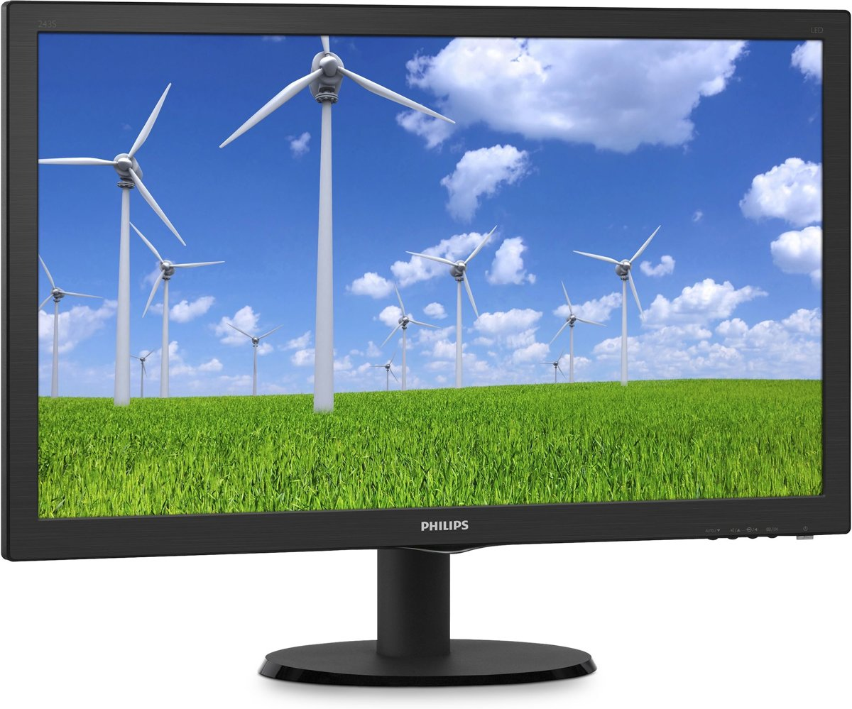 S Line LCD-monitor 243S5LDAB/00