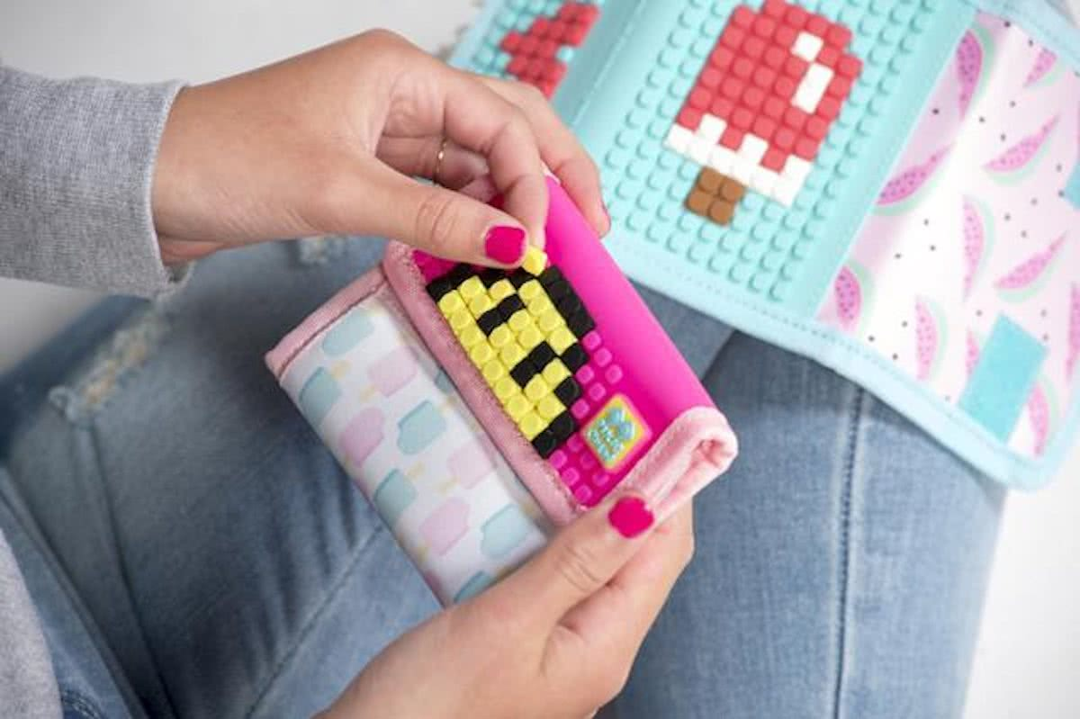 Pixie Wallet Icecream Neon Pink