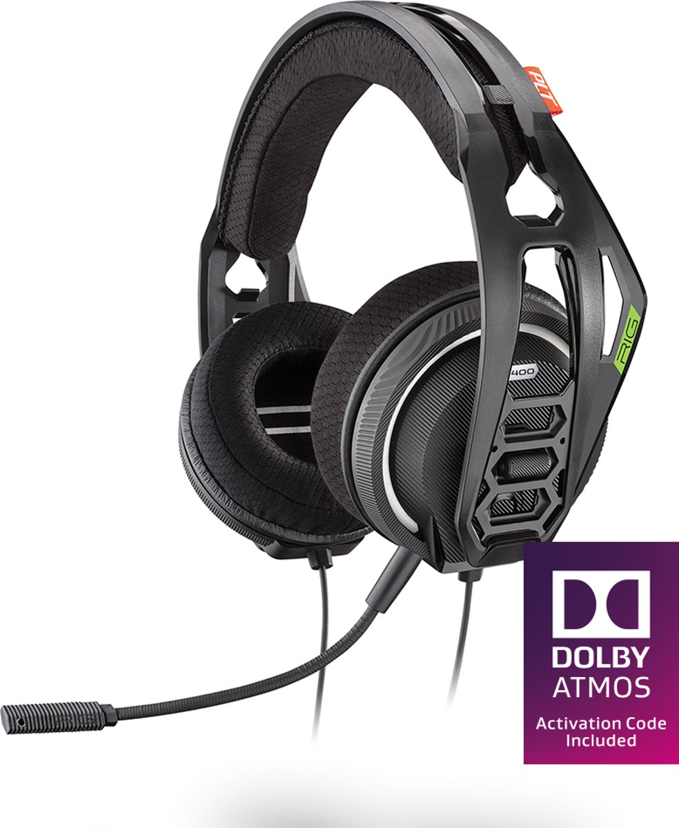 Plantronics RIG 400HX Dolby Atmos Official Headset - Xbox One