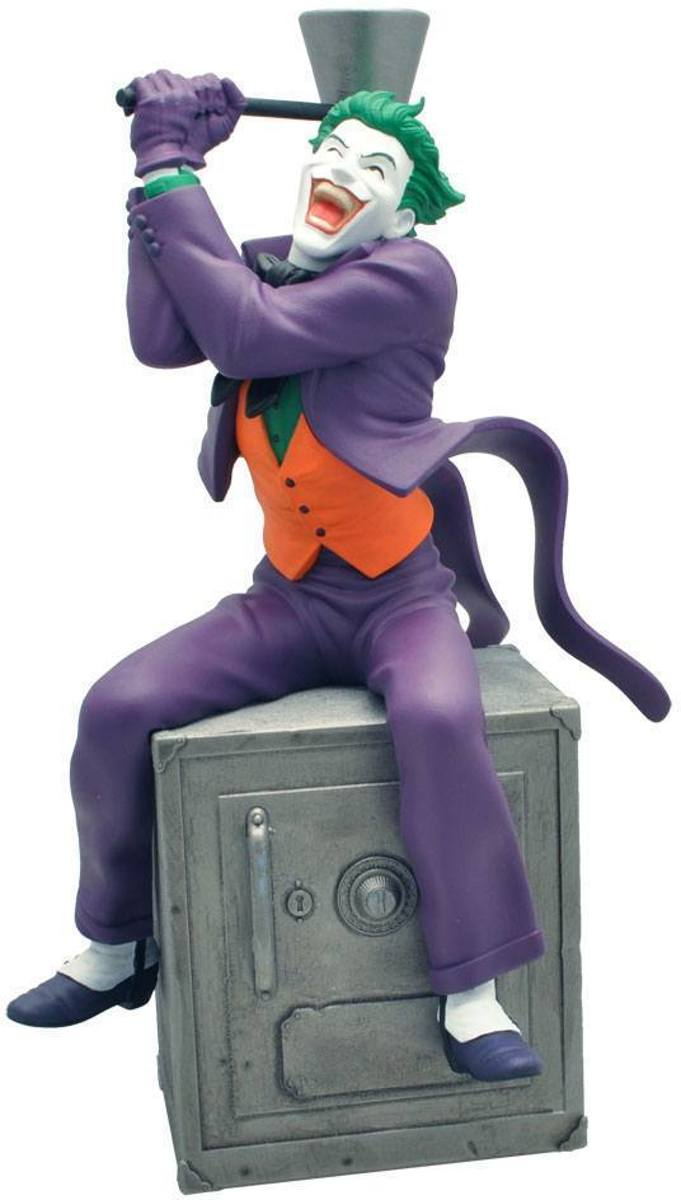 DC COMICS - Tirelire - The Joker on Safe Money Box - 27cm