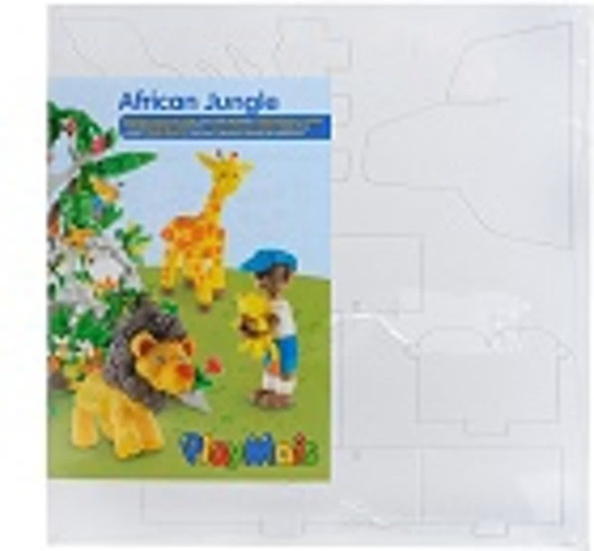 Bouwplaten PlayMais African Jungle