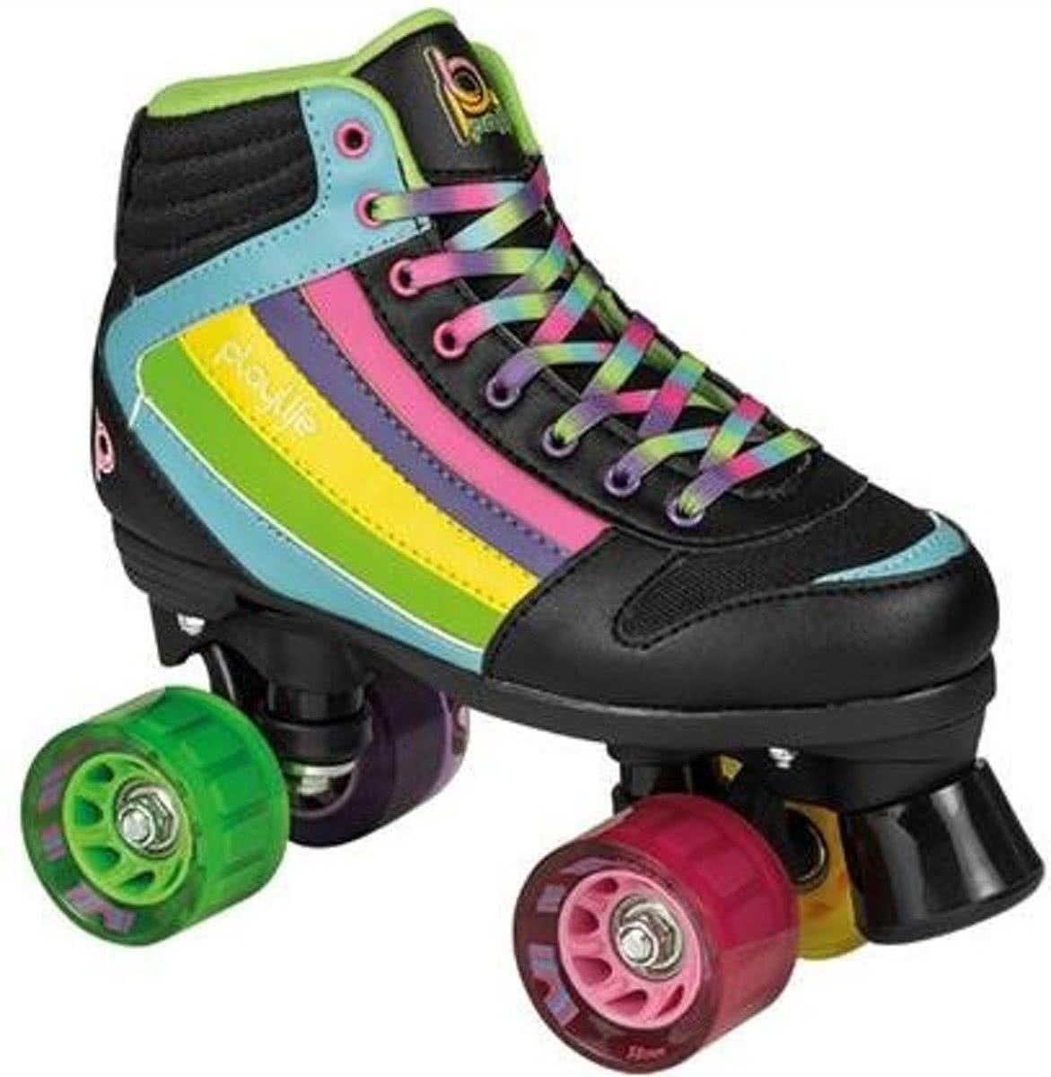 d6b00ca1c29 Playlife Rolschaatsen Groove Rainbow Dames Maat 37