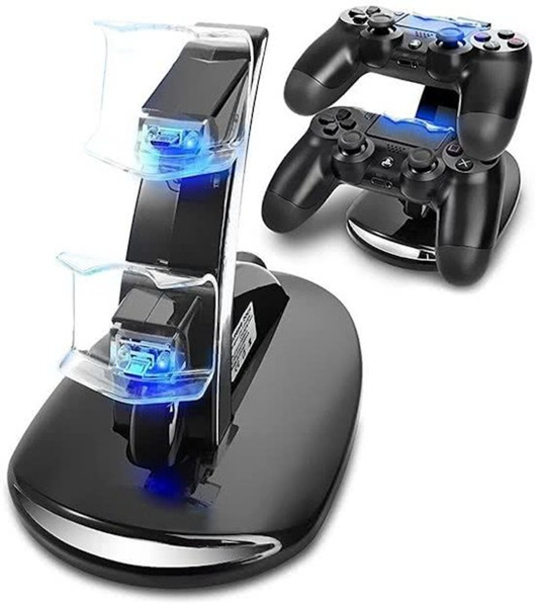 Dubbel Dock Lader Voor Controller PS4 - Charger Controller PS4 - Laadstation PS4