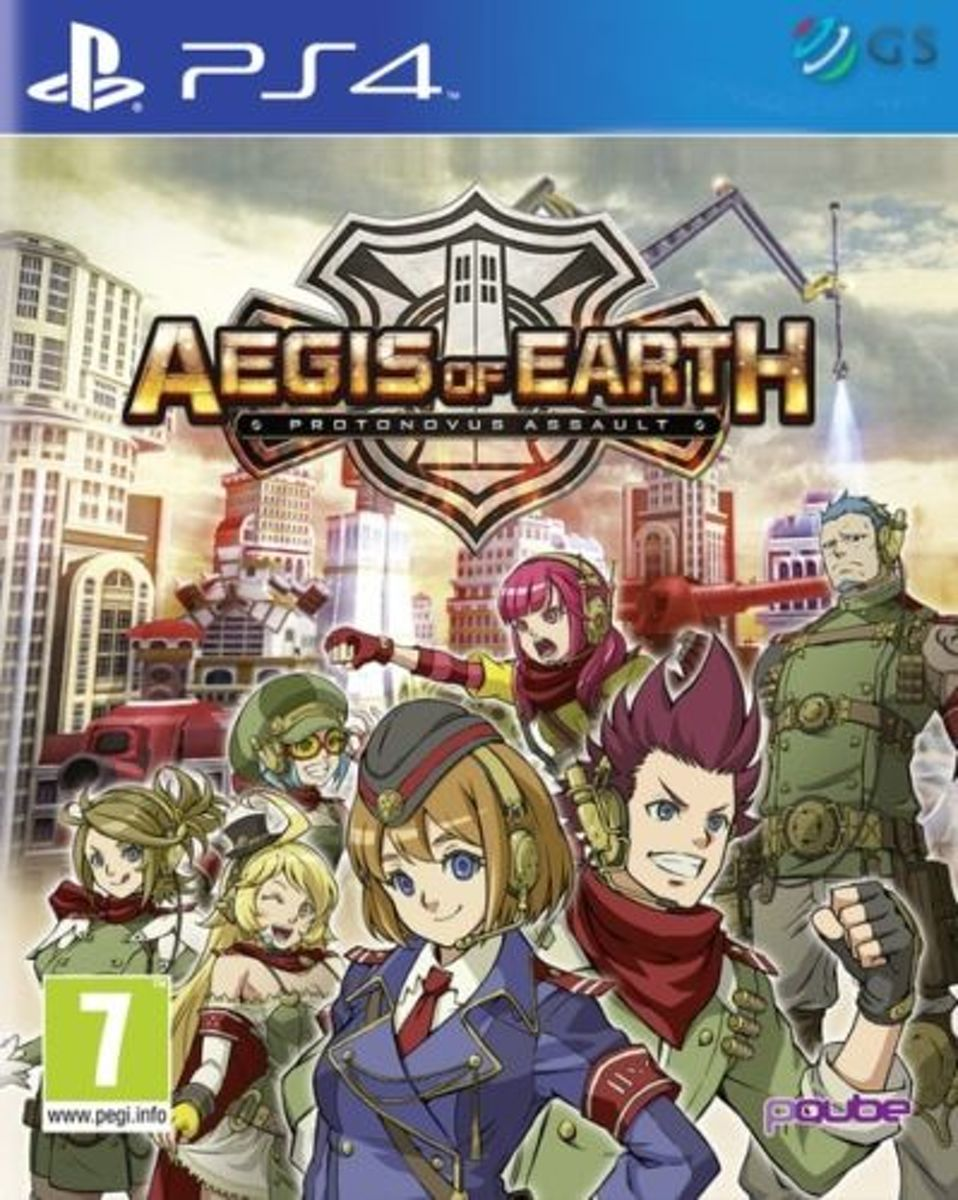 Aegis of Earth: Protonovus Assault /PS4