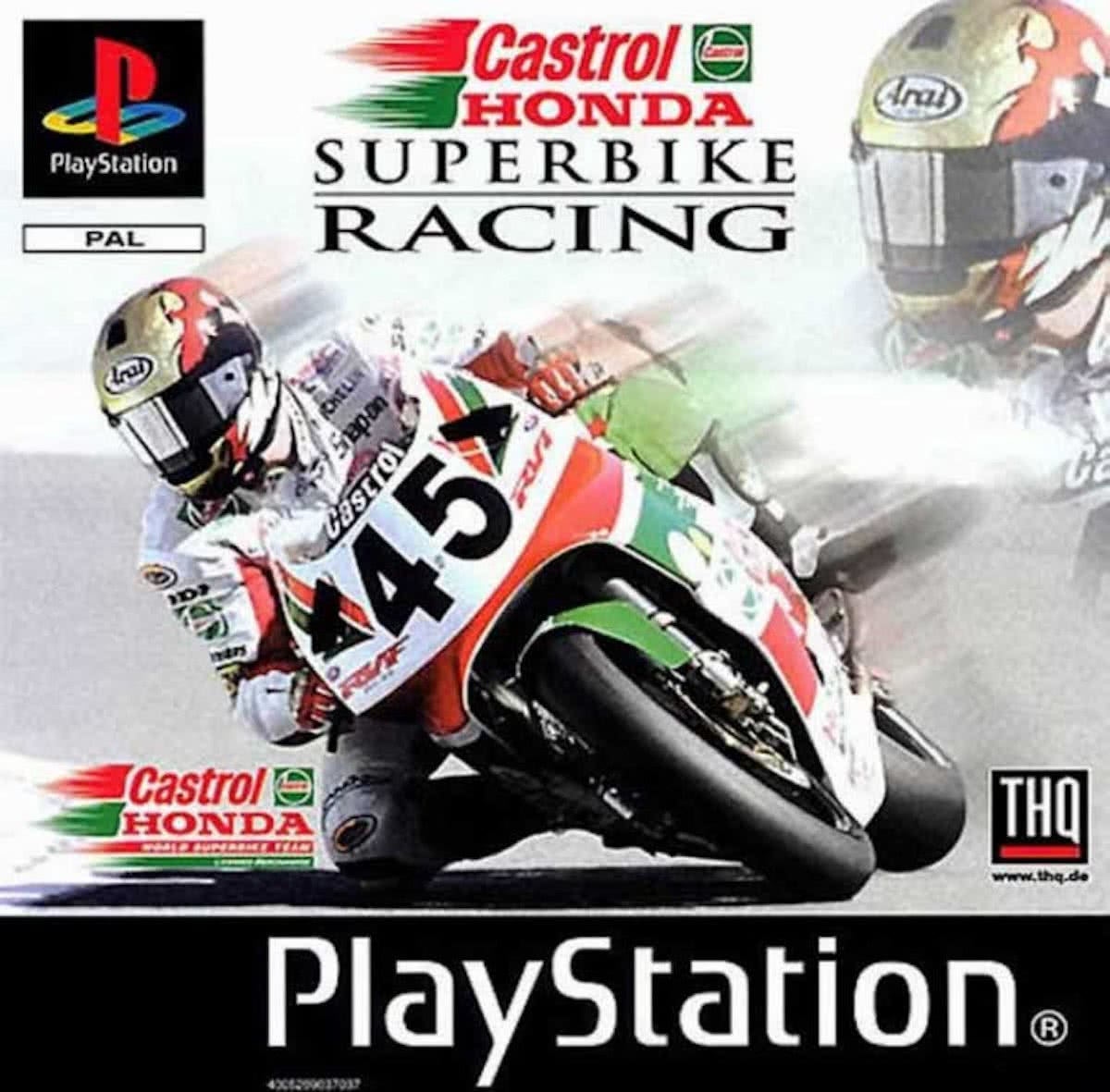 Castrol Honda Superbike Racing (PS1)