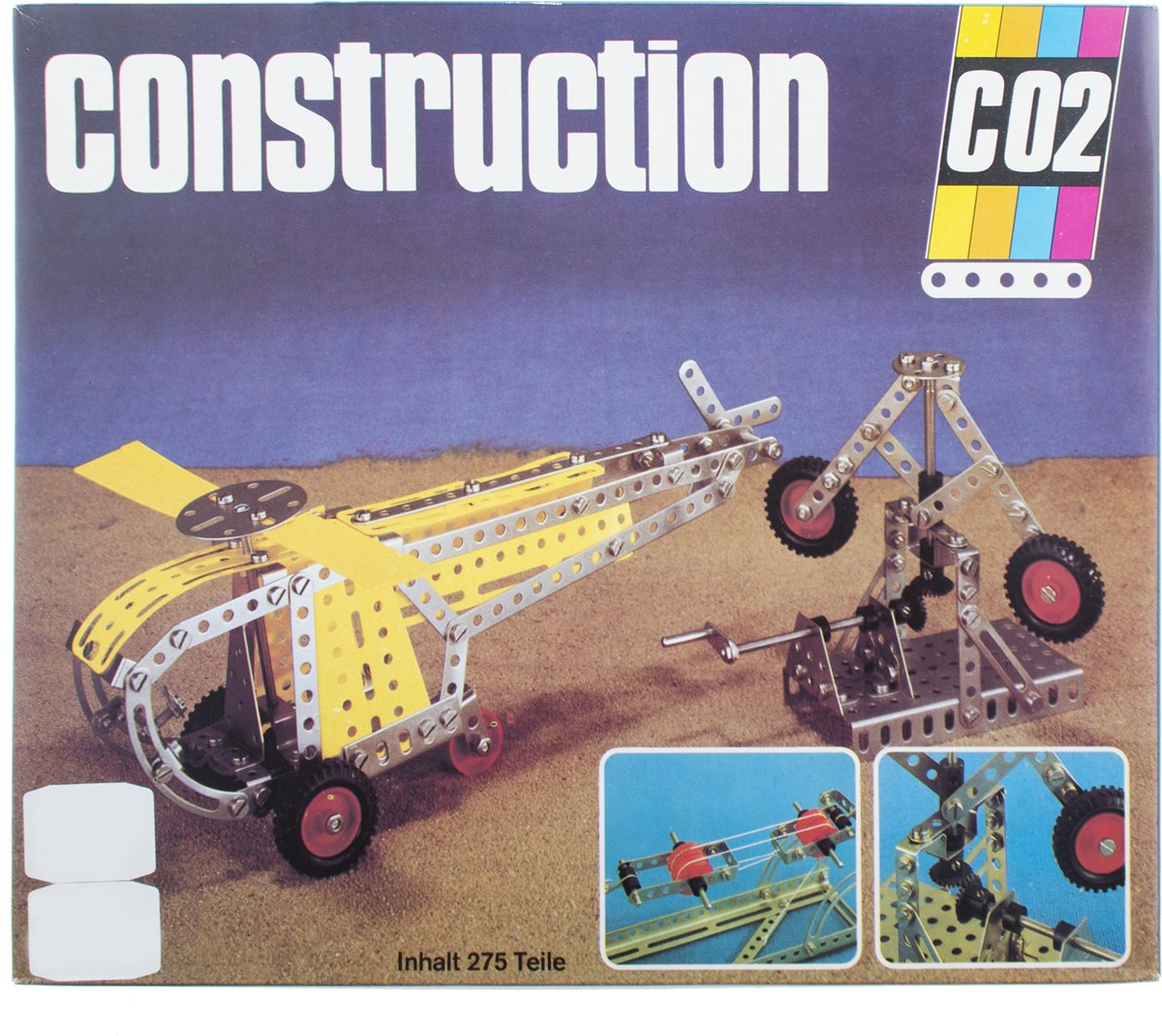 Bouwset - construction CO2 - meccano 275 - delig