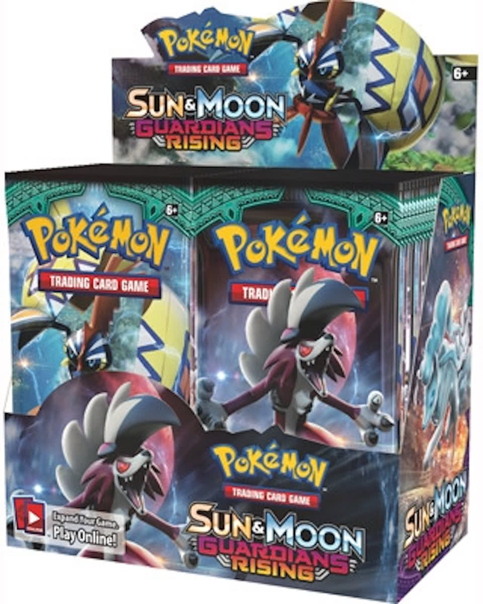 36 Pakjes Pokemon Kaarten Sun & Moon Guardians Rising - Booster box
