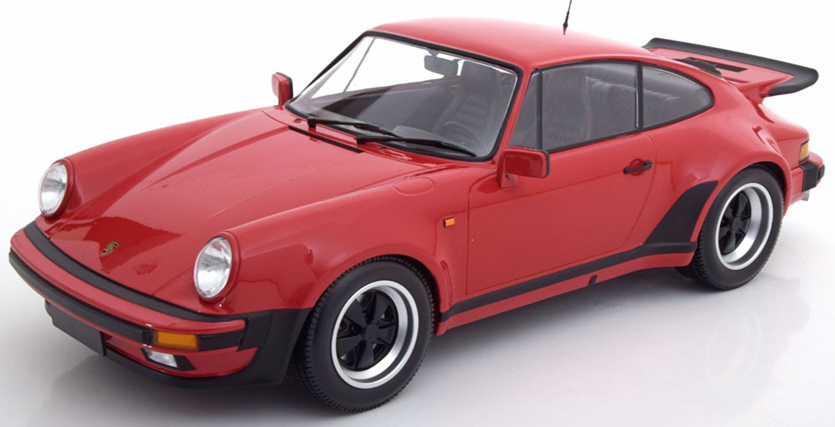 Porsche 911 (930) Turbo 1977 Rood 1-12 Minichamps Limited 100 Pieces