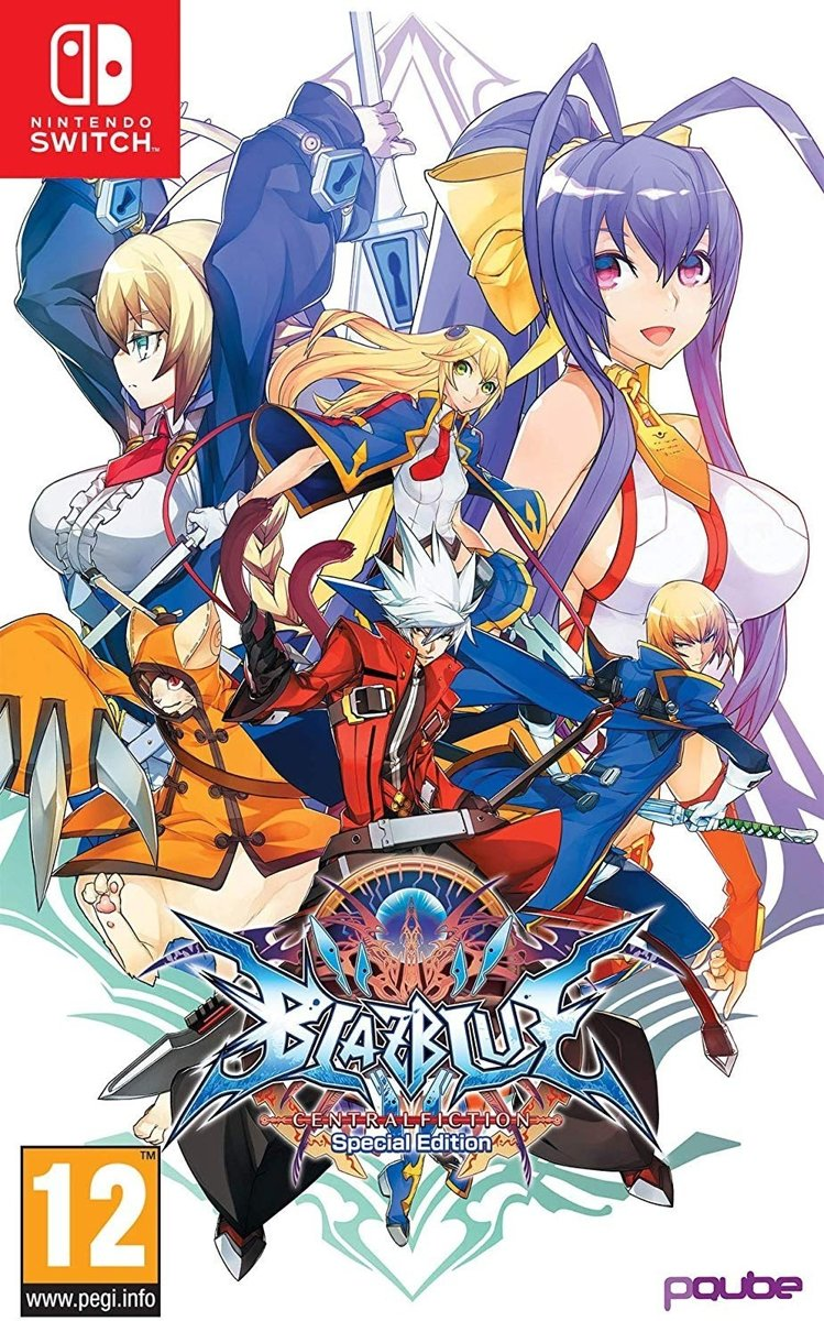 BlazBlue: Central Fiction /Switch