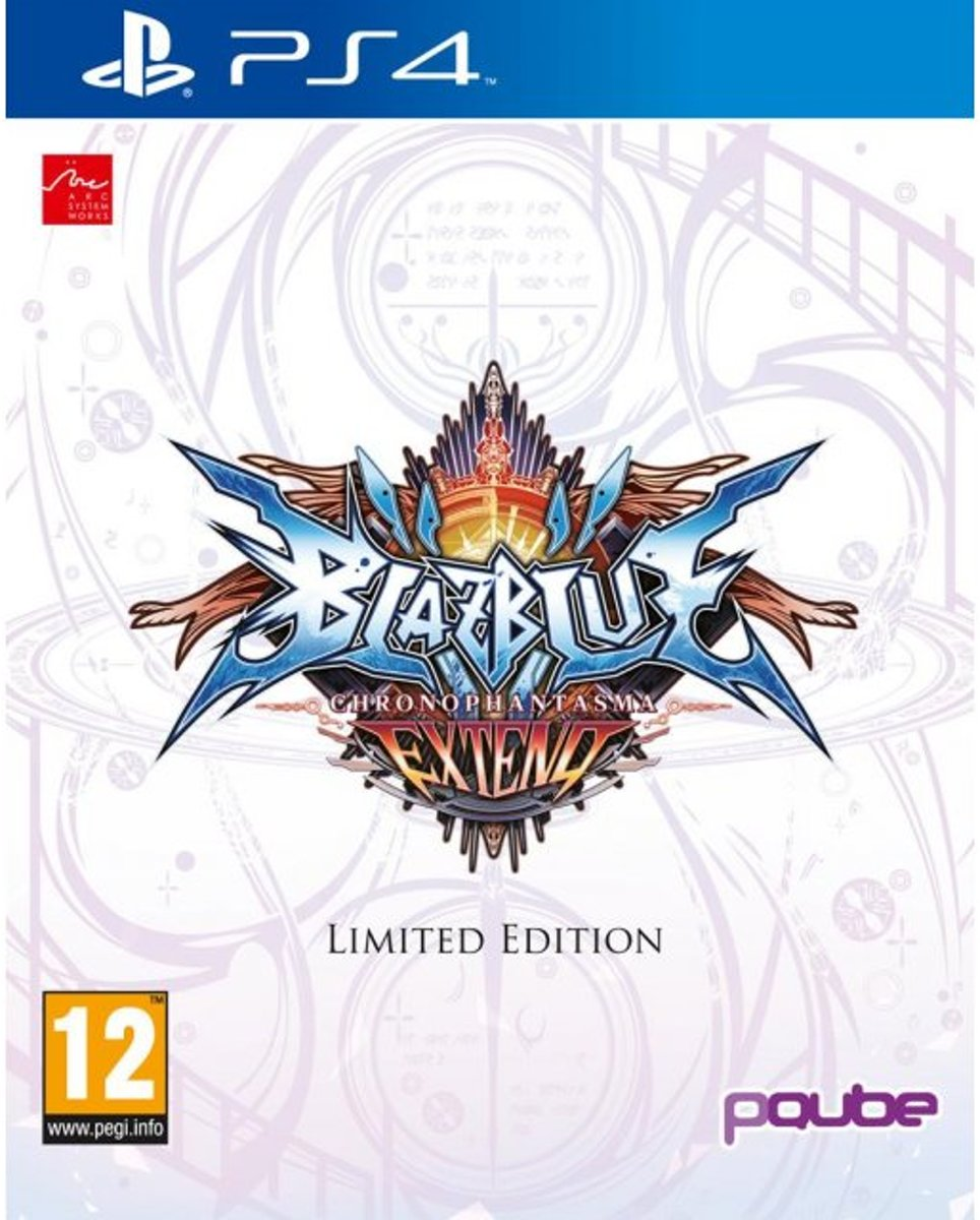 BlazBlue: Chrono Phantasma EXTEND Limited Edition /PS4
