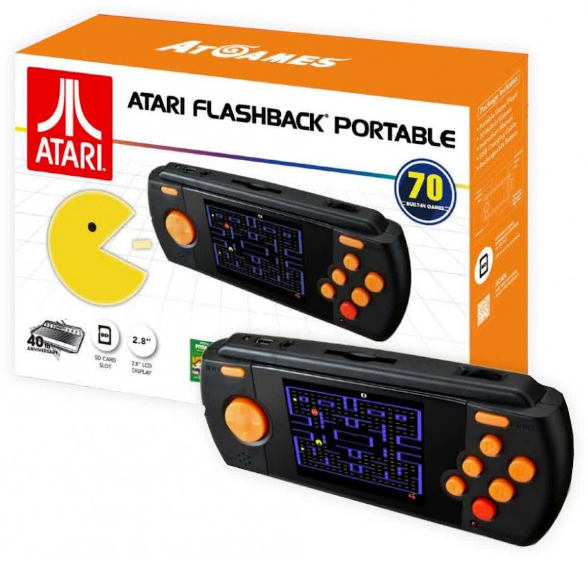 Console RETRO - PORTABLE ATARI Flashback - 70 Games