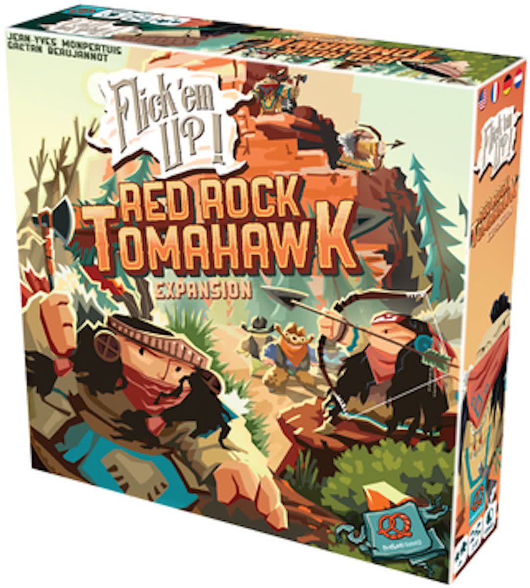 Flick em Up! Red Rock Tomahawk - Uitbreiding