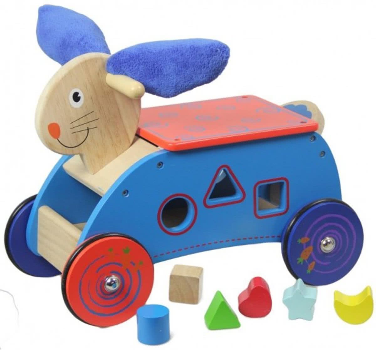 Sort And Go Rabbit Blue