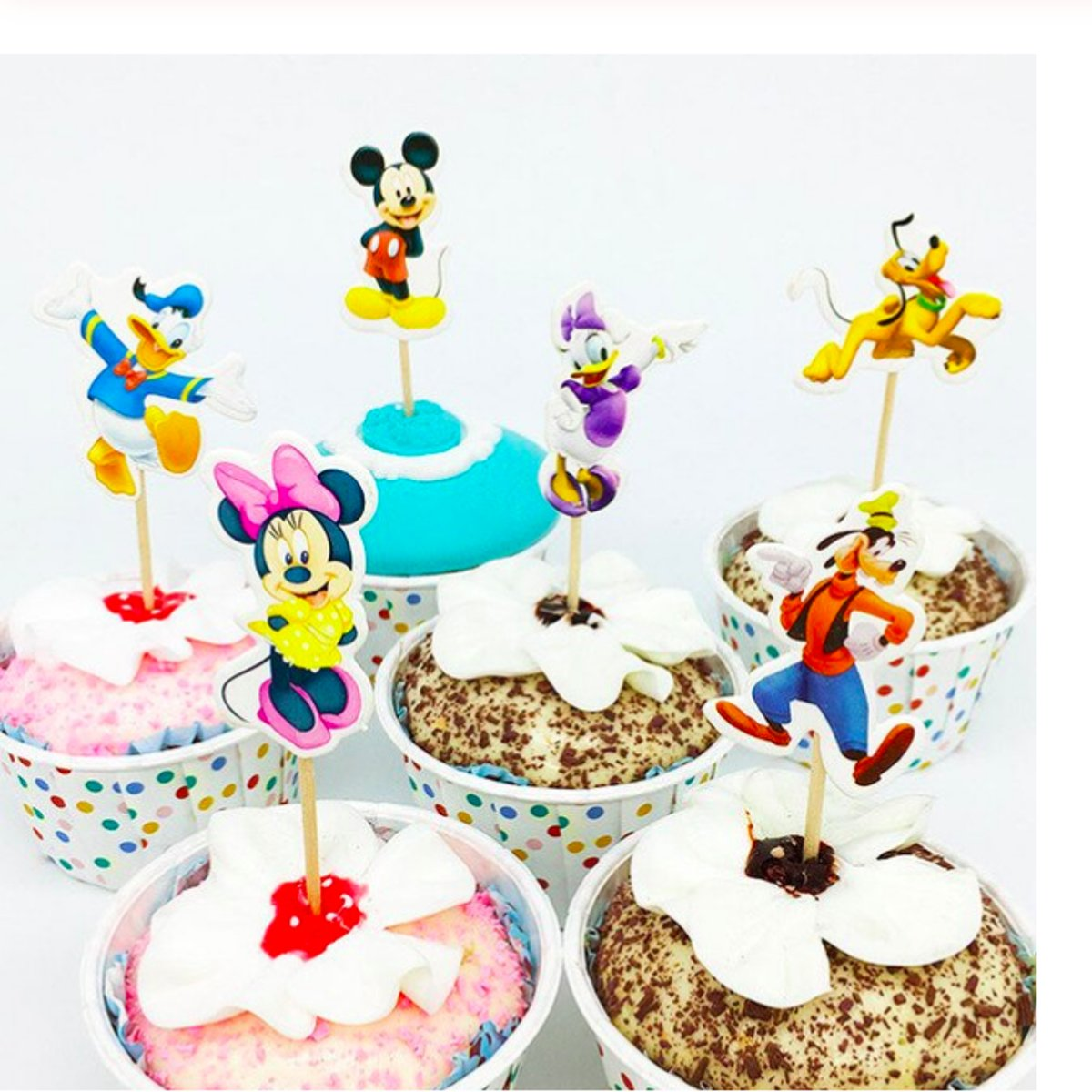 ProductsGoods - 48 x Leuke Mickey Mouse cocktailprikkers