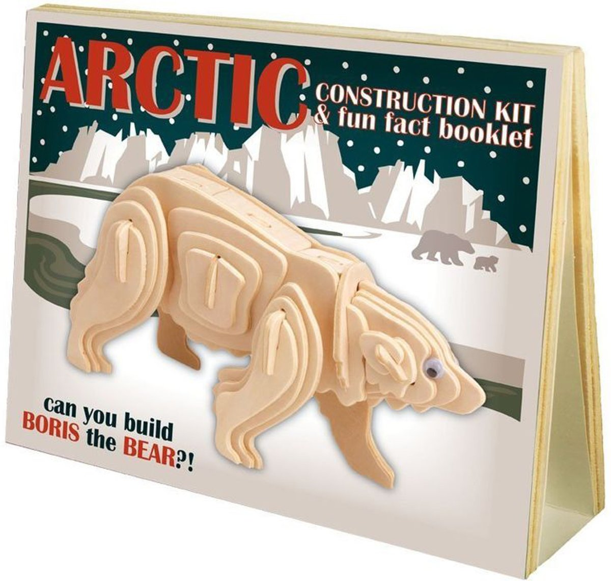 Animal Construction Kit - Arctic Boris the Bear