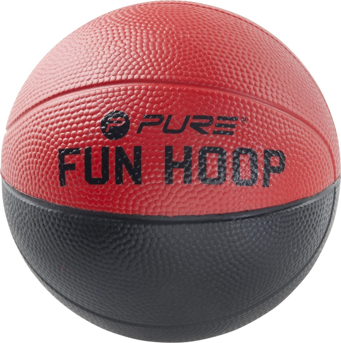 Pure2improve Fun Foam Bal 5.0 Rood/zwart