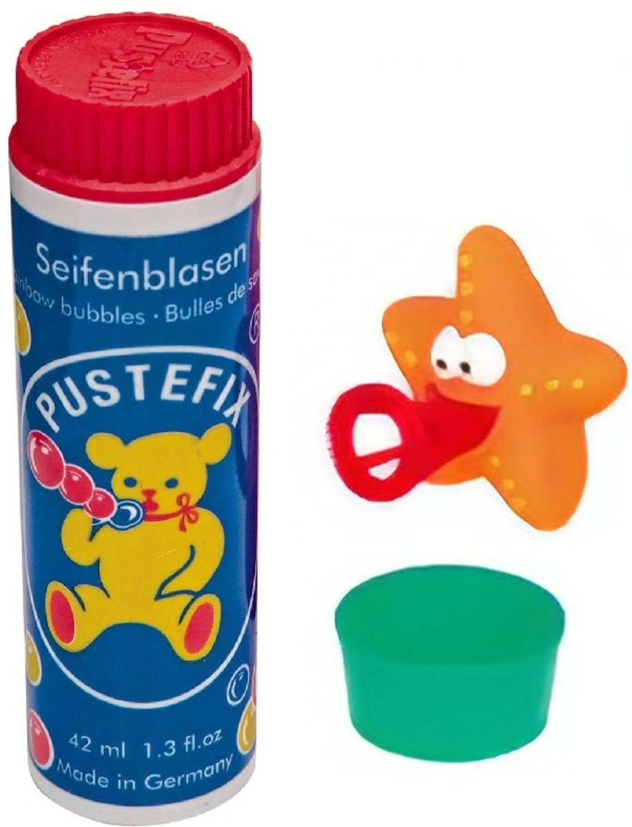 Pustefix Bellenblaas Zeester 42 Ml Multicolor