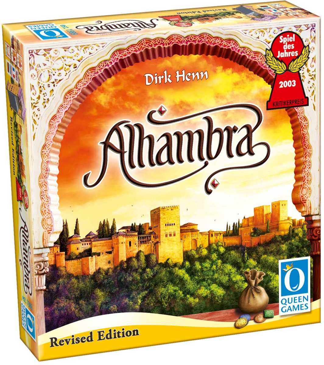 Alhambra Revised Edition Queen Games