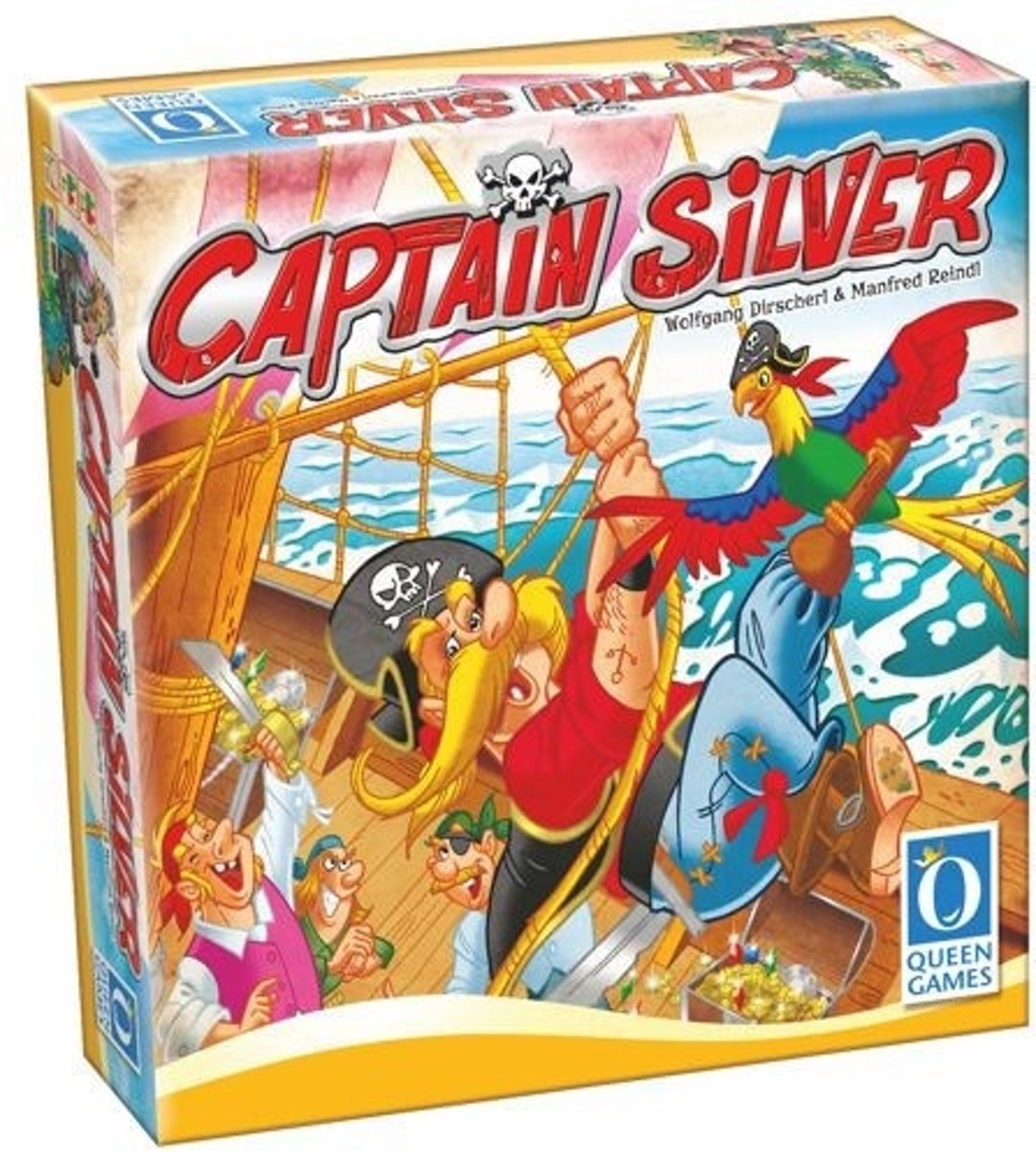 Captain Silver bordspel - Queen Games