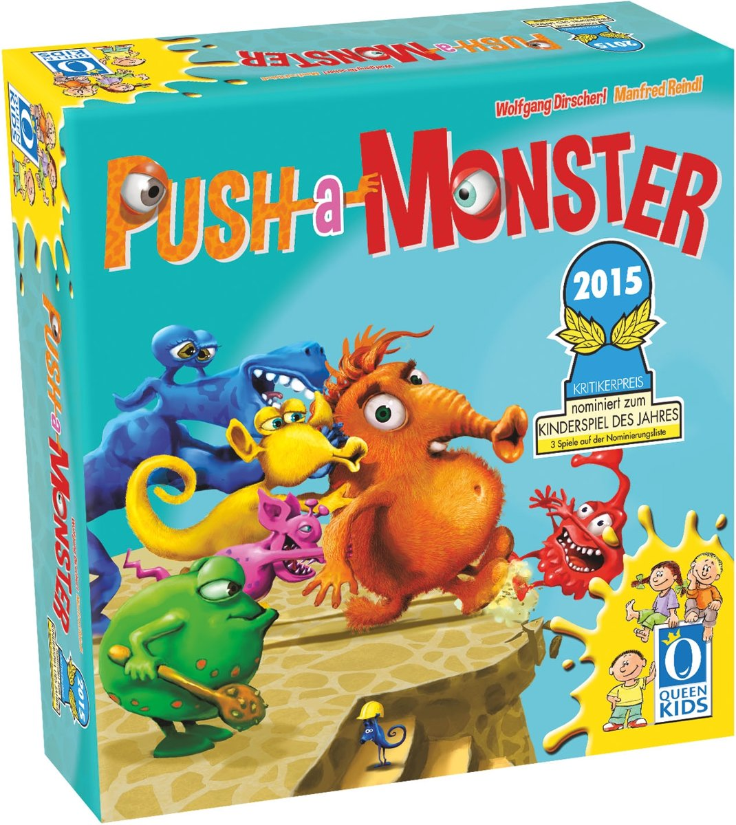 Push a Monster Bordspel jeugd EN / FR / DE