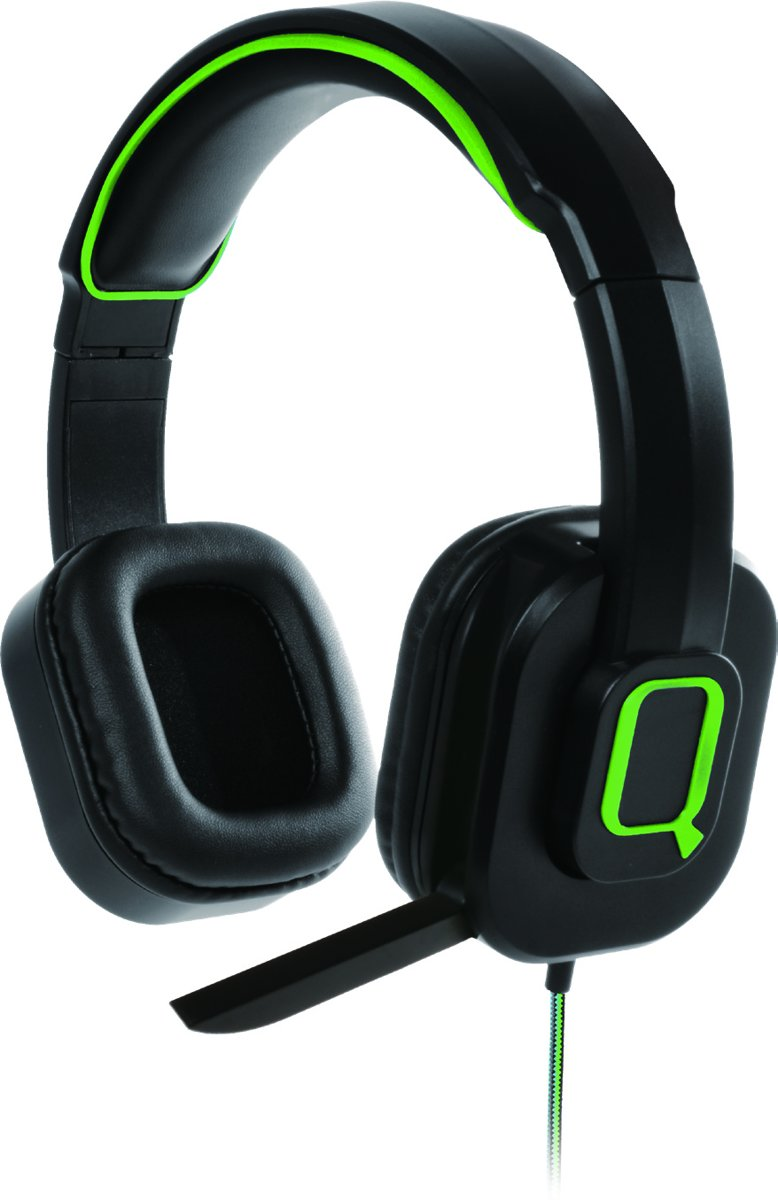 Qware Gaming koptelefoon Pro - Xbox One Playstation 4 PC - Gaming headphone Pro - groen