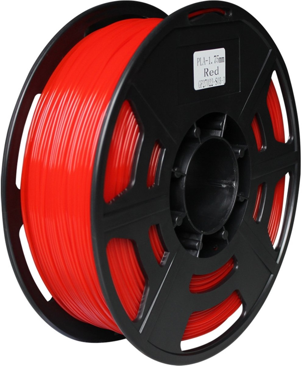 3D ABS filament 1.75mm -1 KG - Rood