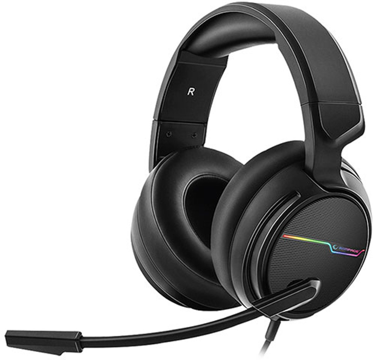 Comfort 7.1 RGB gaming headset RGW9 - Surround Sound - PC
