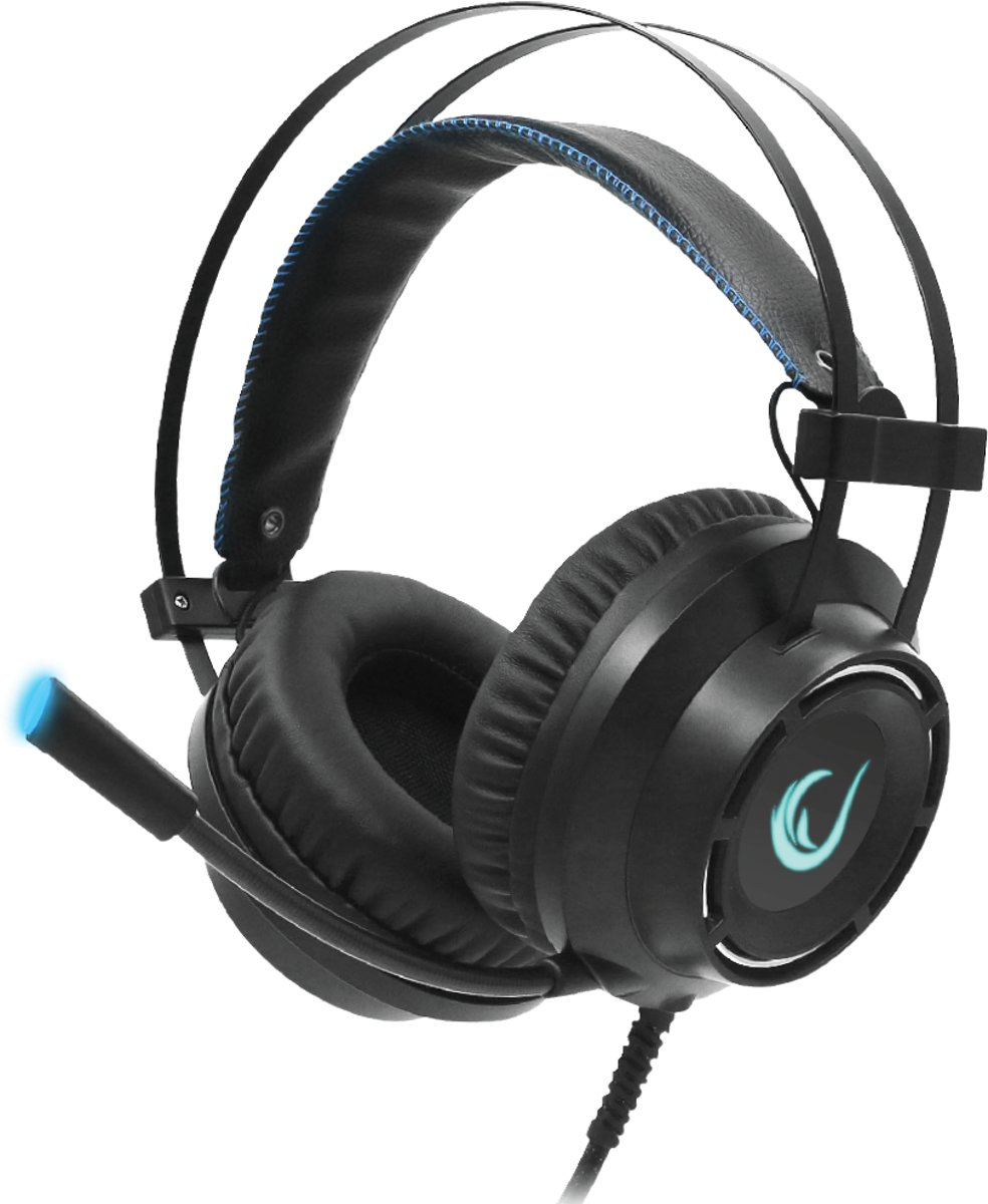 Rampage RM-19 FORTE-Y USB 7.1 gaming Headset Zwart