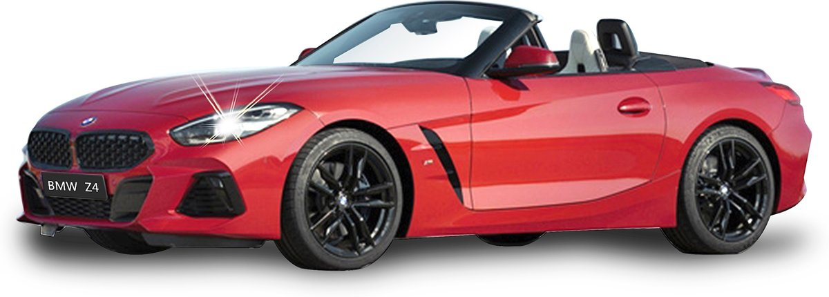 Rc Bmw Z4 Roadster Rood 1:14